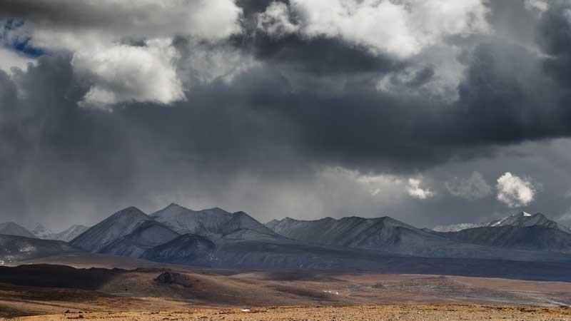 Montagne et orages
